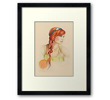 Braided Framed Print