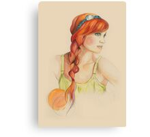 Braided Canvas Print