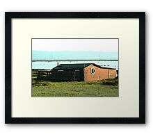 Old Barn Priceless View Framed Print