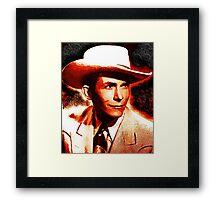 Hank Sr. Framed Print
