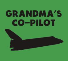 Grandma's Co-Pilot One Piece - Short Sleeve
