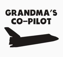 Grandma's Co-Pilot One Piece - Short Sleeve