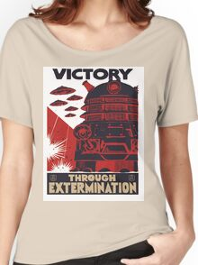 All Hail Our Dalek Overlord Women's Relaxed Fit T-Shirt