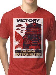 All Hail Our Dalek Overlord Tri-blend T-Shirt