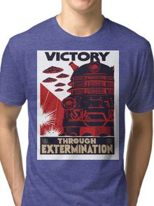 All Hail Our Dalek Overlord Tri-blend T-Shirt