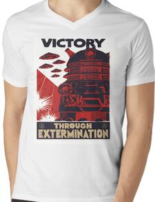 All Hail Our Dalek Overlord Mens V-Neck T-Shirt