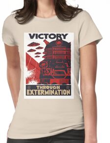 All Hail Our Dalek Overlord Womens Fitted T-Shirt