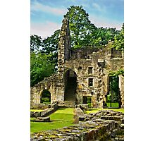 Kirkstall Abbey #5 Photographic Print