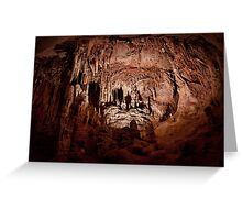 Lodge Room – Lehman Caves Greeting Card