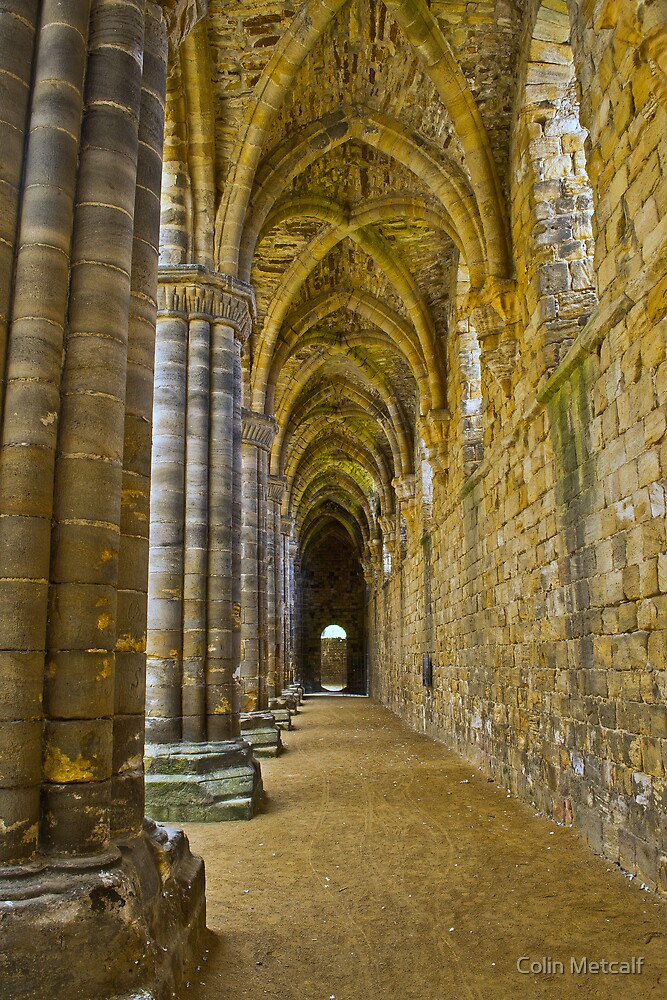 The Cloister by Colin Metcalf