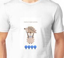 Prickly Come Dancing - Birthday Card Unisex T-Shirt