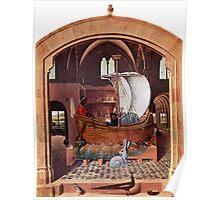 Renaissance Boat. Poster