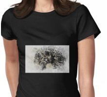 Leopard cub Womens Fitted T-Shirt