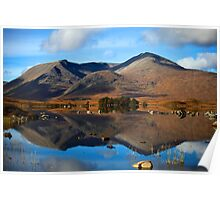 Rannoch Reflections Poster