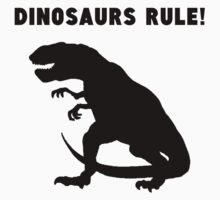 Dinosaurs Rule! One Piece - Short Sleeve