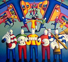 Interior  Music session with dancers   by Alan Kenny