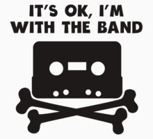 It's OK I'm With The Band One Piece - Short Sleeve