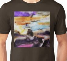 Abstract Watercolor Landscape Unisex T-Shirt