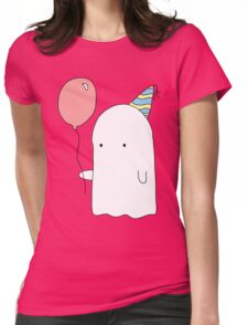 Party Ghost Womens Fitted T-Shirt