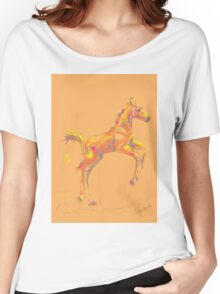 Pillow foal out and about Women's Relaxed Fit T-Shirt