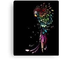 Parrot Broke Canvas Print
