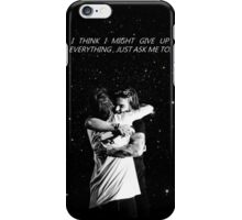 larry hug + if i could fly iPhone Case/Skin