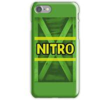 Nitro Crate iPhone Case/Skin