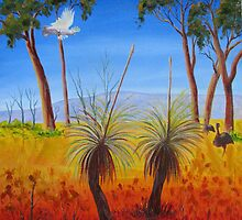 Australia - A Land of sweeping plains by Faye Doherty