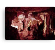 Ceiling of straws – Lehman Caves Canvas Print