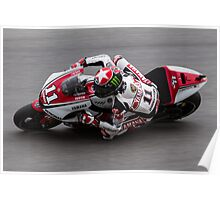 Ben Spies at laguna seca 2011 Poster