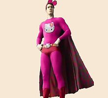 Hello Kitty Superman by sweetcherries