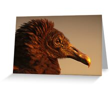 When Black turns Gold Greeting Card