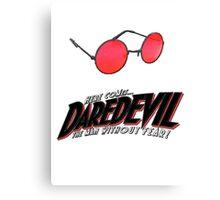 Here comes Daredevil Canvas Print
