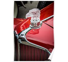 Eagle Hood Ornament / Radiator Cap on Early Cord Poster