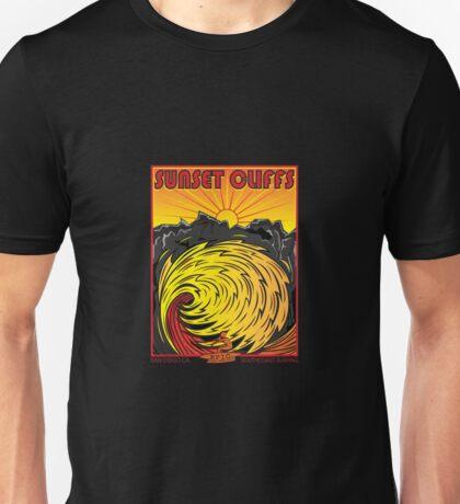 SUNSET CLIFFS Unisex T-Shirt