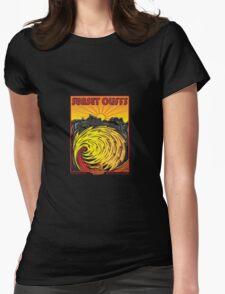 SUNSET CLIFFS Womens Fitted T-Shirt