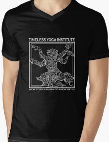 TIMELESS YOGA INSTITUTE Mens V-Neck T-Shirt
