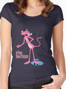 The Pink Panther IV Women's Fitted Scoop T-Shirt