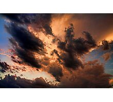 Cloud 20120812-122 Photographic Print