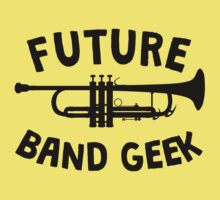 Future Band Geek Trumpet One Piece - Short Sleeve