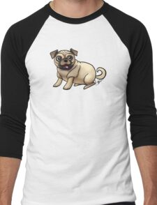 Pugs Men's Baseball ¾ T-Shirt