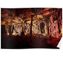 Halloween halls – Lehman Caves Poster