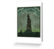 Gloom Tower Greeting Card