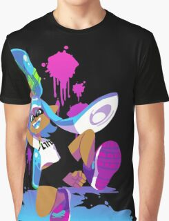 Splatoon Inkling (Cyan) Graphic T-Shirt