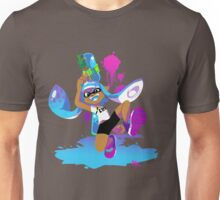 Splatoon Inkling (Cyan) Unisex T-Shirt