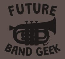 Future Band Geek Tuba Baby Tee