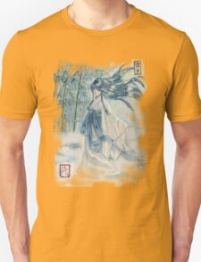Yuki onna Snow girl Japanese mythology  T-Shirt