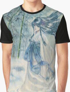 Yuki onna Snow girl Japanese mythology  Graphic T-Shirt