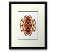 Overlap Design Framed Print