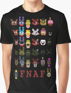 20 Nights at Freddy's Graphic T-Shirt